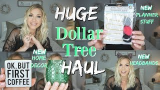 HUGE Dollar Tree Haul| AMAZING NEW Finds| May 2019| Megan Navarro