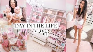 30 MINUTE DAY IN THE LIFE VLOG! ORGANIZING MY CLOSET!💕