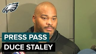 Duce Staley Praises Josh Adams' Work Ethic | Eagles Press Pass