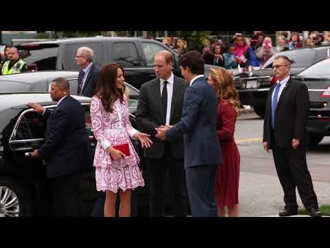 Royal couple arrive at Immigrant Services Society of B.C.
