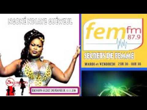 Ngoné Ndiaye Guéweul Secrets de Femme 11-11-2016 sur Fem fm 87.9