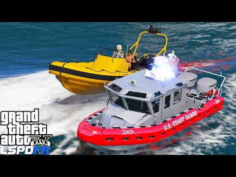 GTA 5 LSPDFR USCG Coastal Callouts | Boobs Are Not Floating Devices | United States Coast Guard MOd