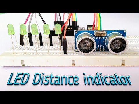 HC-SR04 LED Distance Indicator || By Es Tech Knowledge