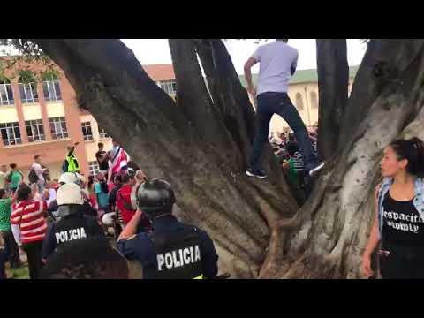 Manifestación contra nicaragüenses 3