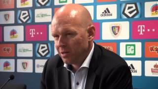 Henning Berg po meczu Piast - Legia - 05.10.2014 r.