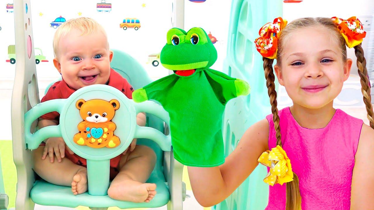ديانا وروما - استعد لتحدي الرقص - أنشطة للأطفال!