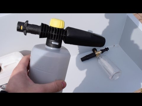 WHY you should get the more expensive FOAM GUN!!!!! (INSANE DIFFERENCE!!!!!!!)