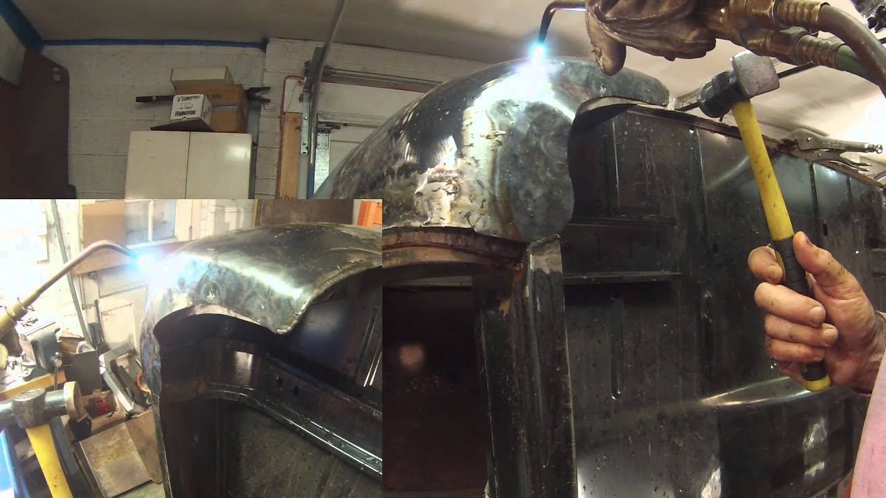 Shrinking Steel Sheet Metal Made Easy With An Oxy