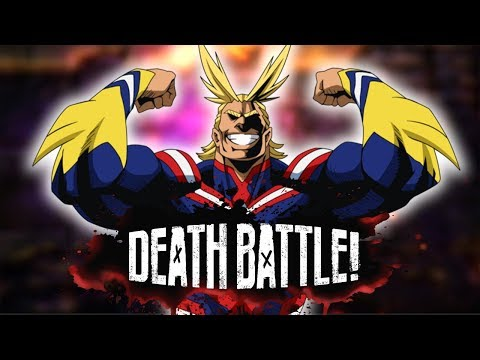 All-Might IS HERE For DEATH BATTLE!