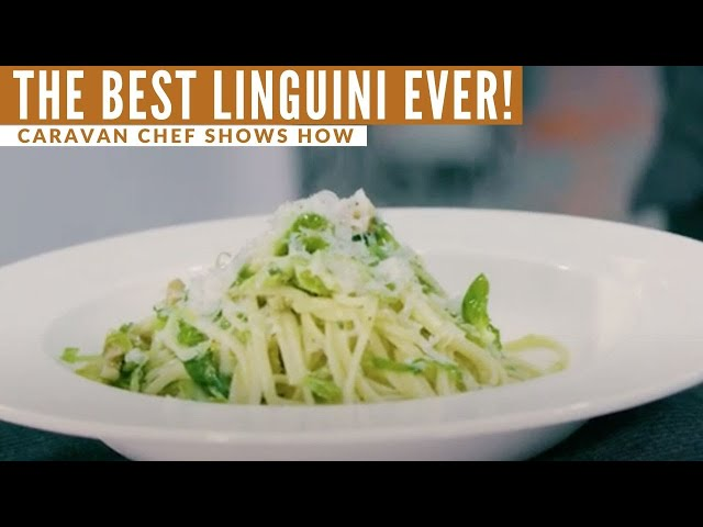 Caravan Cooking: The BEST linguini you'll ever eat!