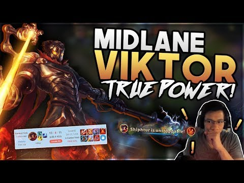 Shiphtur | MY TRUE POWER!!! | VIKTOR MID