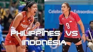 Philippines vs Indonesia Volleyball Highlights, Scores and Statistics - Asian Games 2018