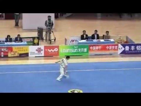 Compétition Kungfu (Wushu) Epée en Chine