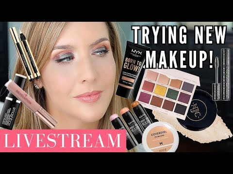 LIVESTREAM! Playing With New Makeup 2019 | Persona Identity 2 & More! thumbnail