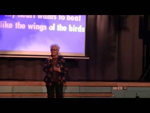 Aida Oria Schaffa sings THE SOUND OF MUSIC