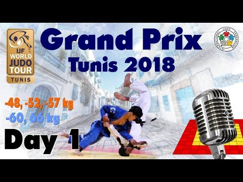 Judo Grand-Prix Tunis 2018: Day 1