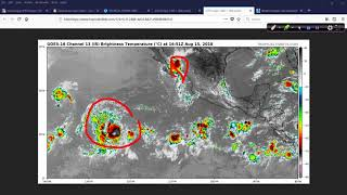 August 15 Hurricane Outlook and Discussion