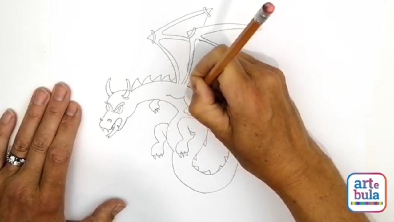 How to Draw a Magical Dragon