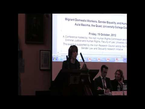 Migrant Domestic Workers, Gender Equality and Human Rights Conference 2012 - Giammarinaro