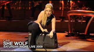 Download Shakira ~ She Wolf [Saturday Night Live 2009] HD MP3 song and Music Video