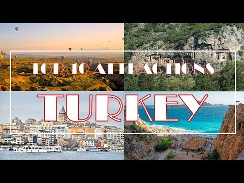 Turkey Attractions | Top 10 | Must See Destinations | HD