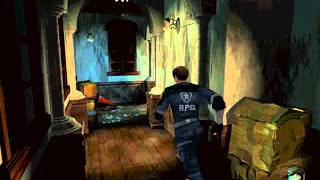 Resident Evil 2 Leon B Mr. X Dodge