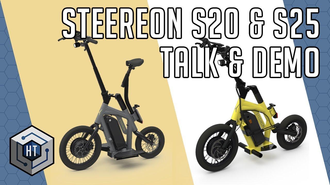 Steereon S20 & S25 – EScooter mit Allrad Lenkung vorgestellt (Modell 2020)