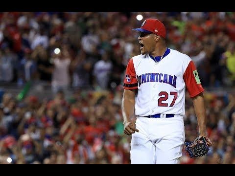 2017 World Baseball Classic: USA vs. Dominican Republic
