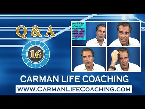 Carman Life Coaching – Tuesday Q & A – Episode 16