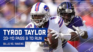 Tyrod Taylor's Spinning Sack Escape Leads to LeSean McCoy 4th & Goal TD! | NFL