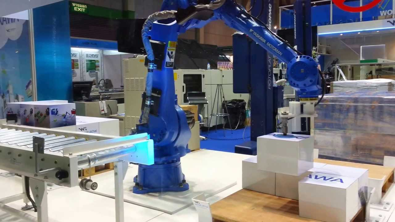 Motoman Mh50 Dx100 By Yaskawa Thailand Co Ltd Youtube