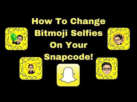 Snapchat: How to Change Bitmoji Selfie on Snapcode