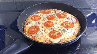Пицца на сковороде Идеальное тесто