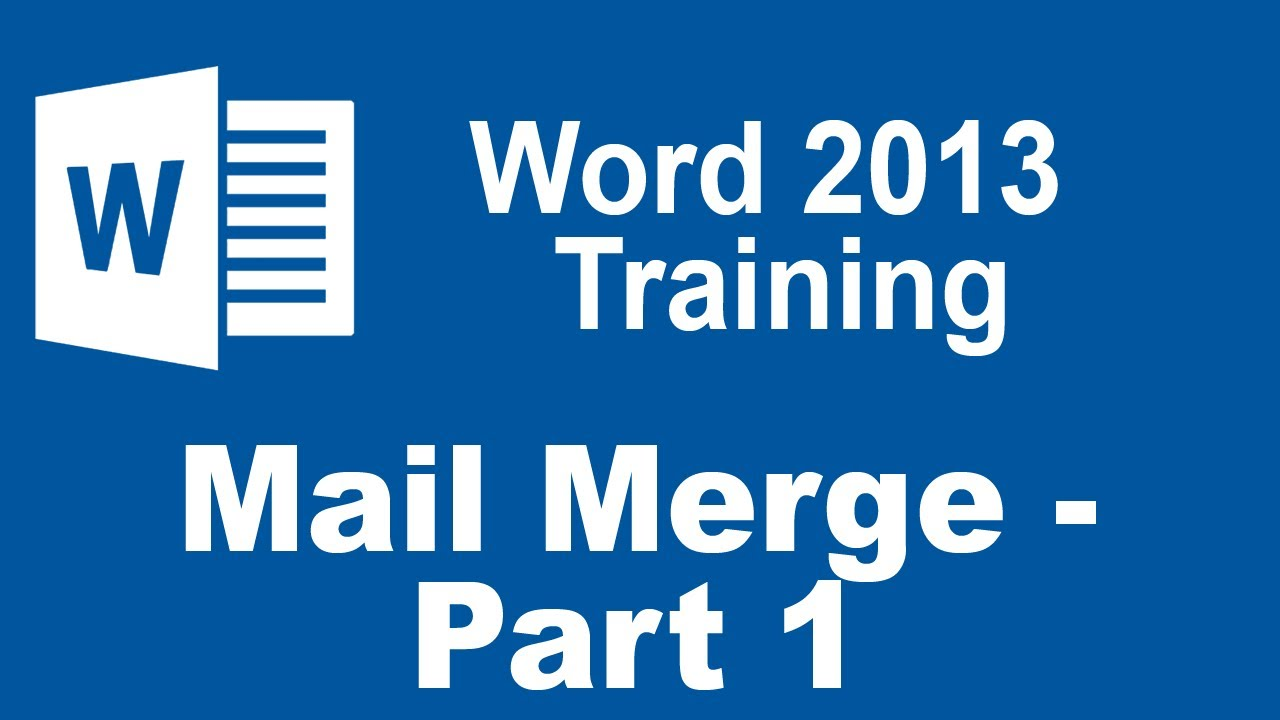 mail merge tutorial 2010