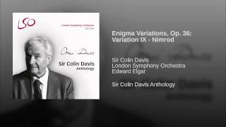 Enigma Variations, Op. 36: Variation IX - Nimrod
