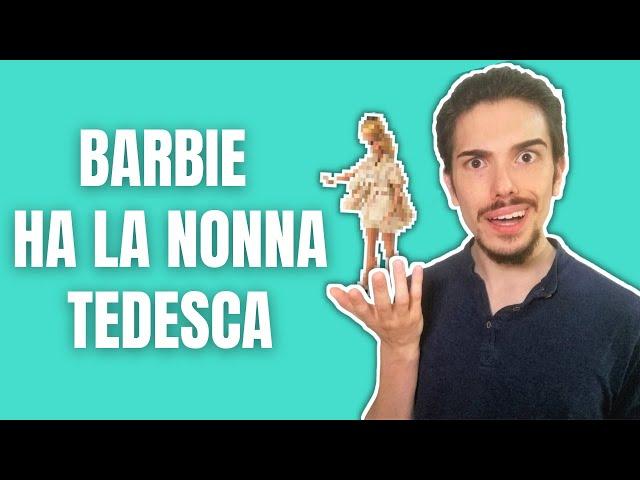 Barbie ha la nonna tedesca! 🇩🇪
