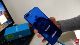 Unboxing honor 9 lite !!!!!- shine light blue colour-amazing features and best review