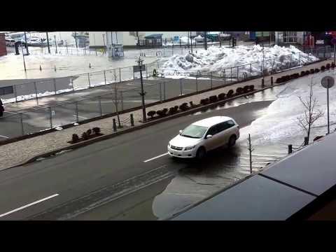 TSUNAMI in JAPAN【東日本大震災】北海道函館市の津波被害 1/3 Hakodate, Hokkaido