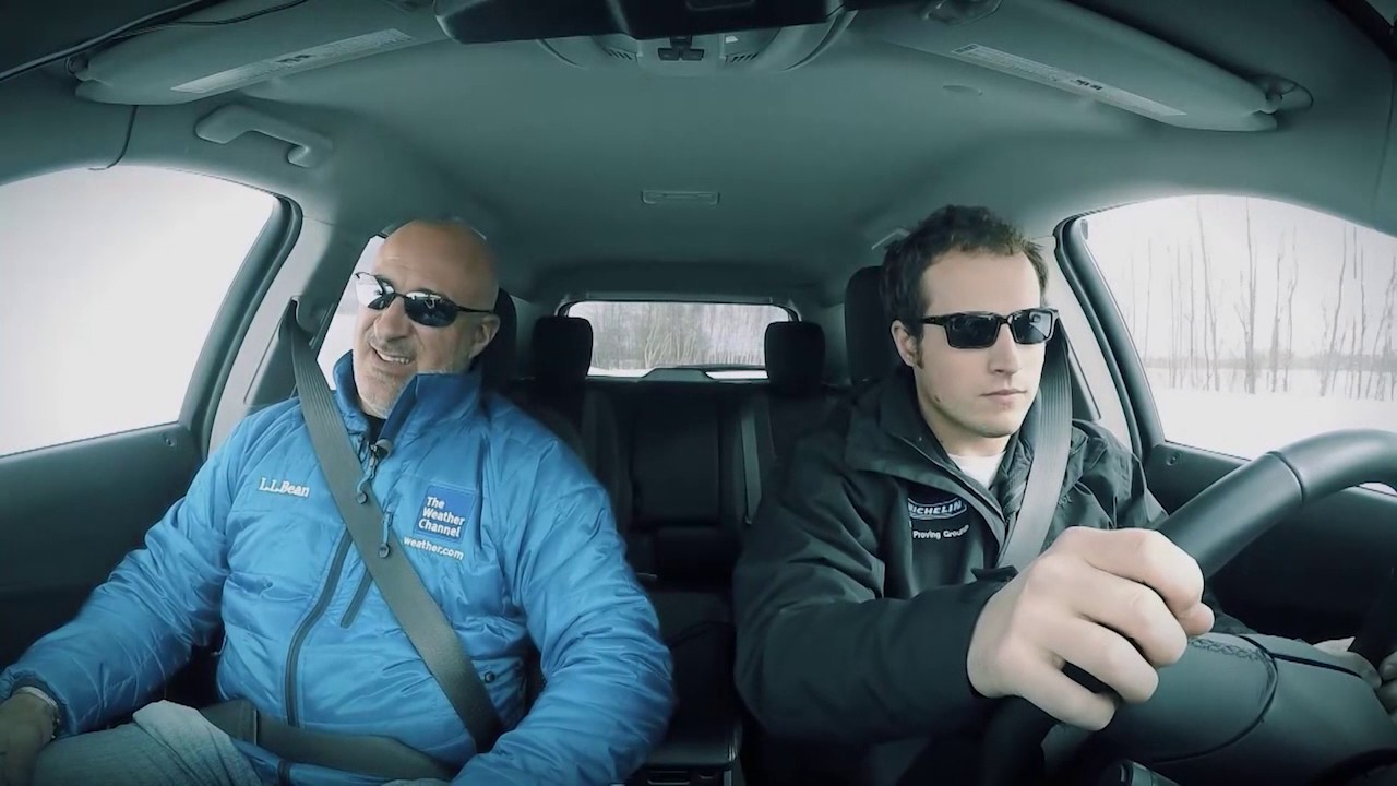 Preview image for Michelin Winter Tires vs. All Season Handling with Jim Cantore video