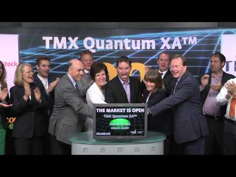TMX Group opens Toronto Stock Exchange, June 17, 2014