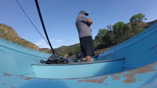 Castaic Lake California Go Pro 2 hour challenge Bass Fishing Catches / Underwater Releases 04/24/18