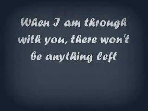 When I Am Through With You - The VLA (lyrics)