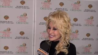 "Dolly Parton and Jennifer Nettles talk about ""Christmas of Many Colors Circle of Love"" movie"