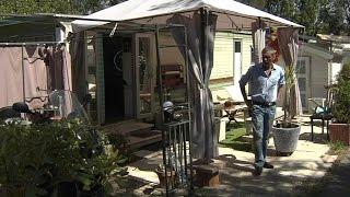 Mandelieu: un camping condamné à fermer, les occupants à la rue