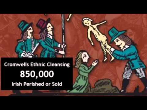 Irish Slavery: Oliver Cromwell in Ireland, Irish History