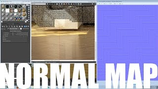 Normal Map with NVIDIA FREE Plugin 3Ds Max VRay WOOD FLOOR TEXTURE