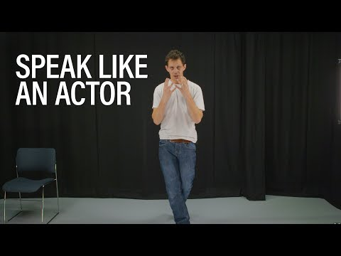 Acting secretsfor a strong, dynamic voice