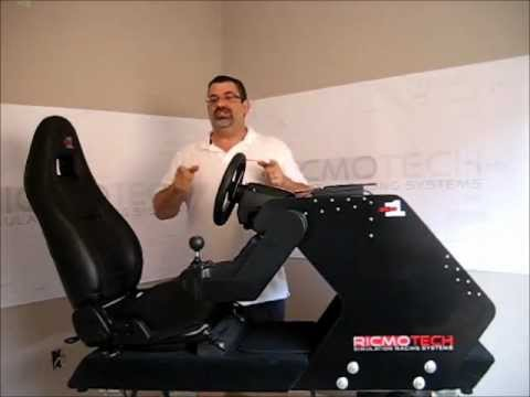 Tour Of The Rs1 Diy Racing Simulator Cockpit Youtube
