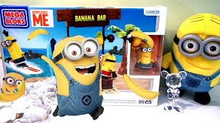 Lego Minions Mega Bloks Banana Bar set speed build, lego minions video- CKC