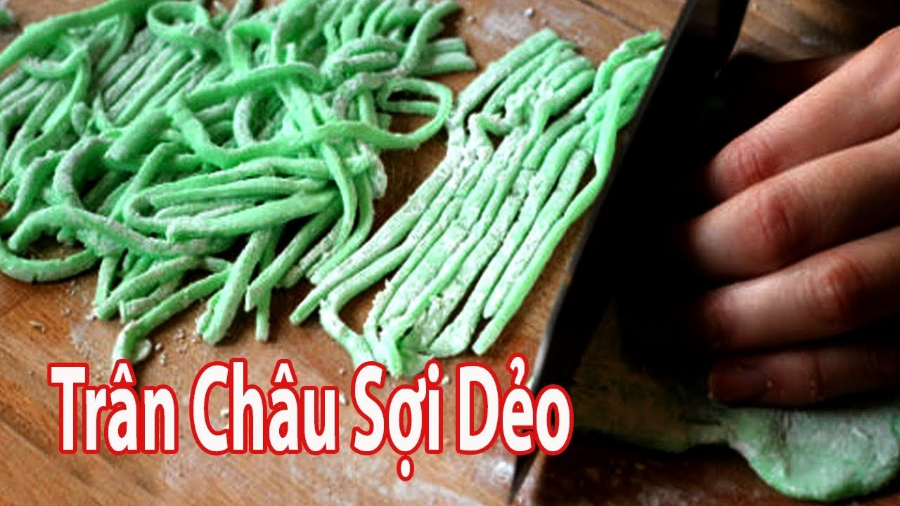Cách Làm Trân Châu Sợi ( Thạch Giun ) Vô Cùng Độc Đáo | Góc Bếp Nhỏ
